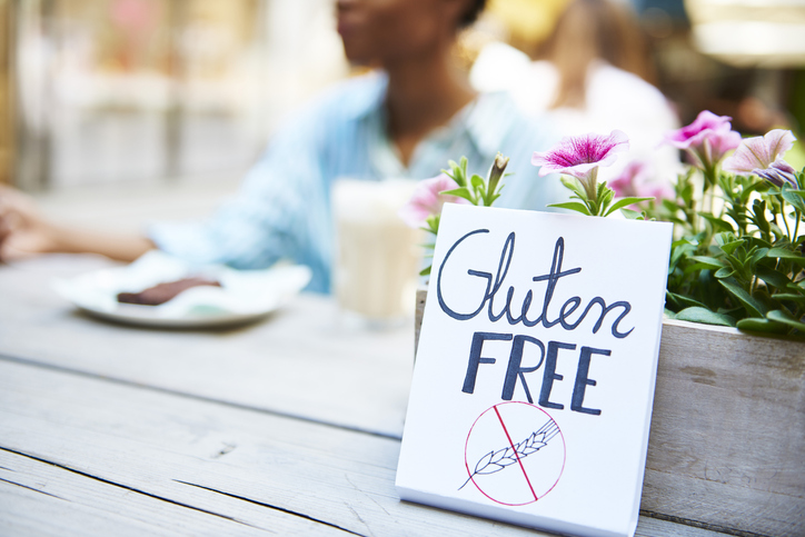 Almost one in five IBD patients tries a gluten-free diet. Photo by Getty.