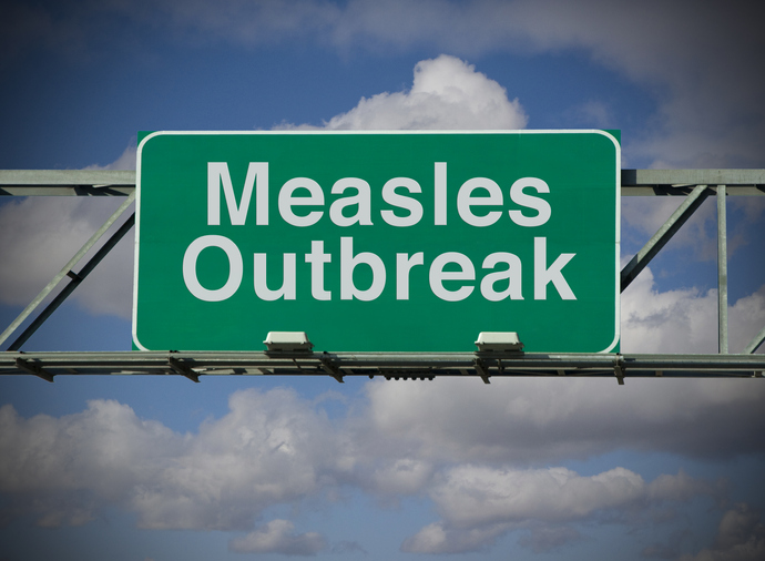 Federal health officials have confirmed more than 880 cases of measles in 2019. Image by Getty.