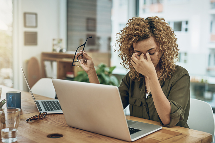 The World Health Organization has classified occupational burnout as a work-related syndrome, with symptoms that might include feelings of exhaustion and increased negativity. Photo by Getty.