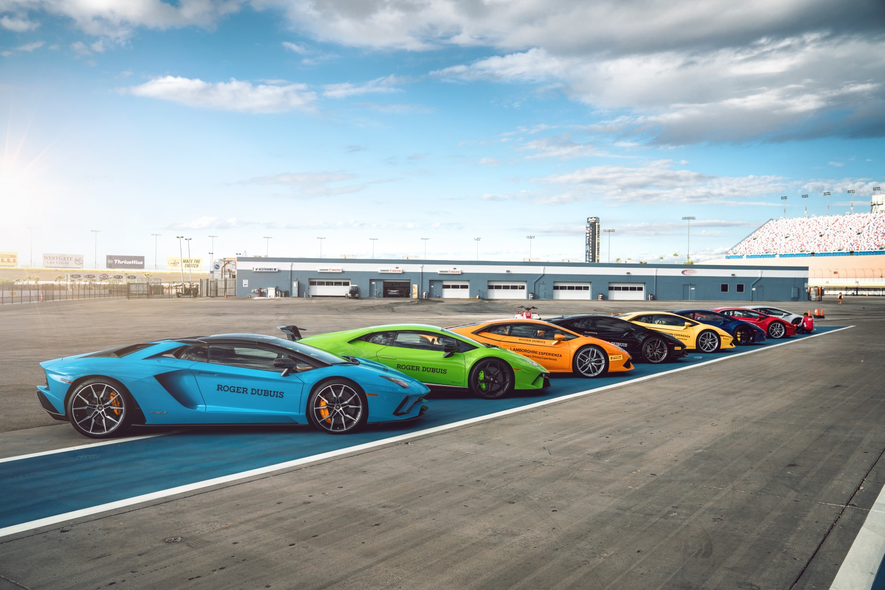 Roger Dubuis in Las Vegas- Track Day