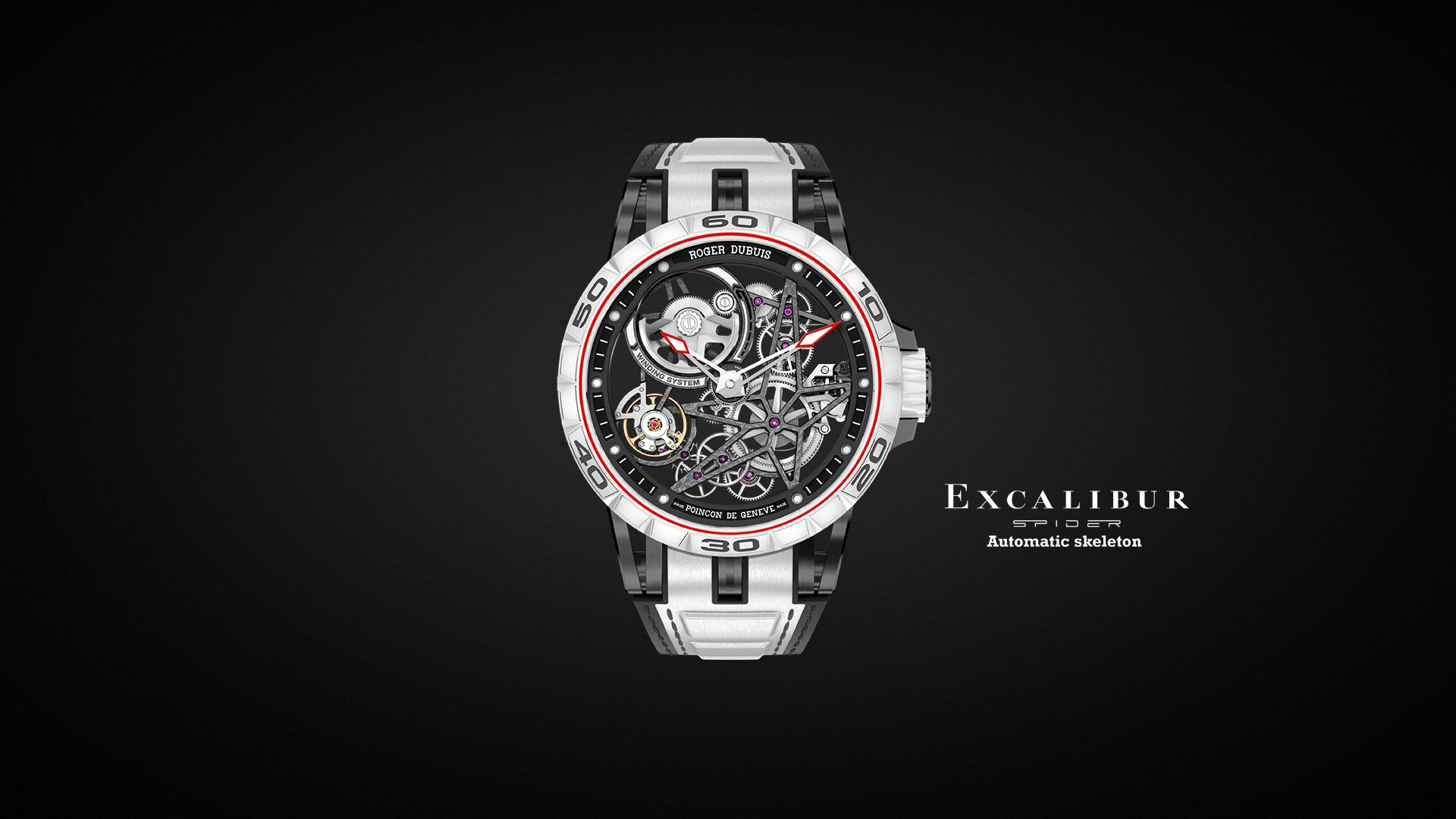 Excalibur Spider Skeleton Automatic - Japan Limited Edition