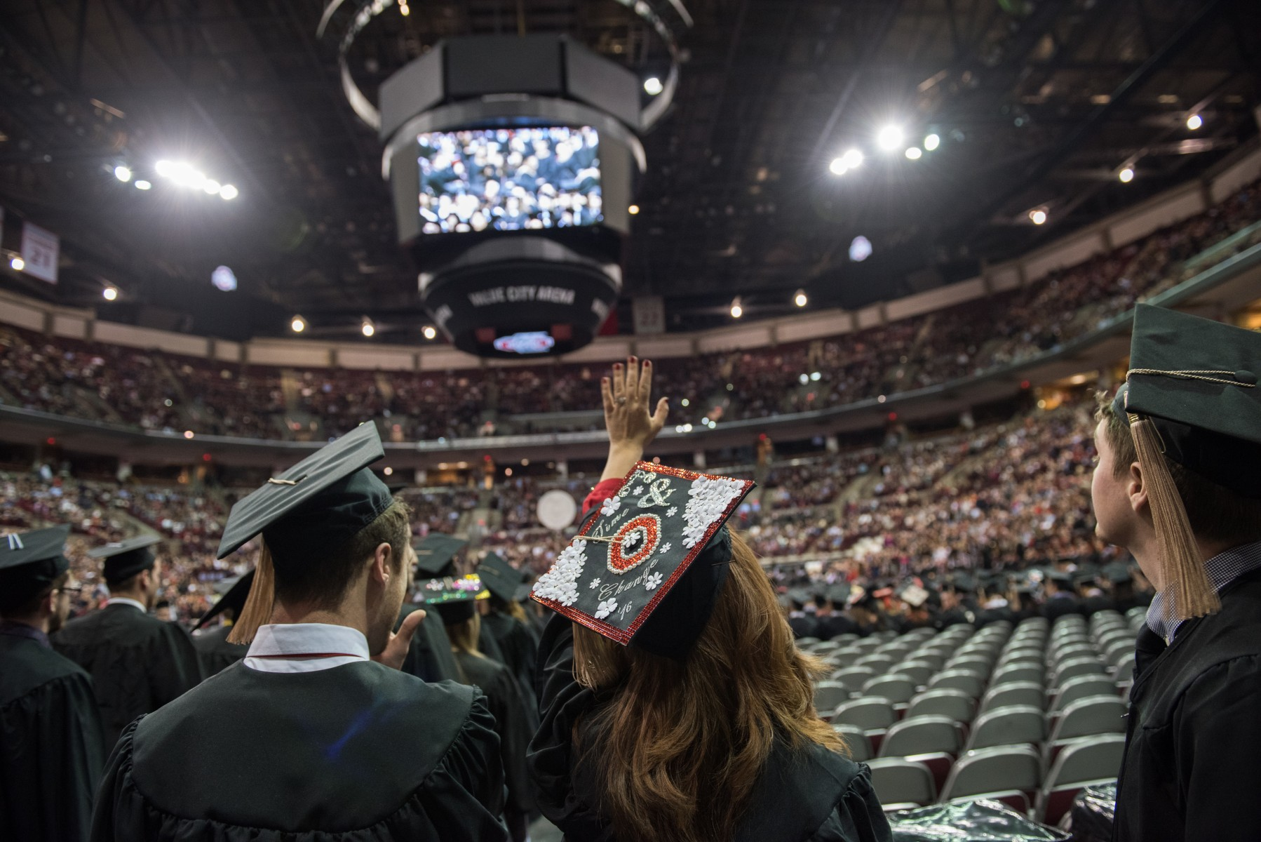 Autumn Commencement in the Schottenstein Center