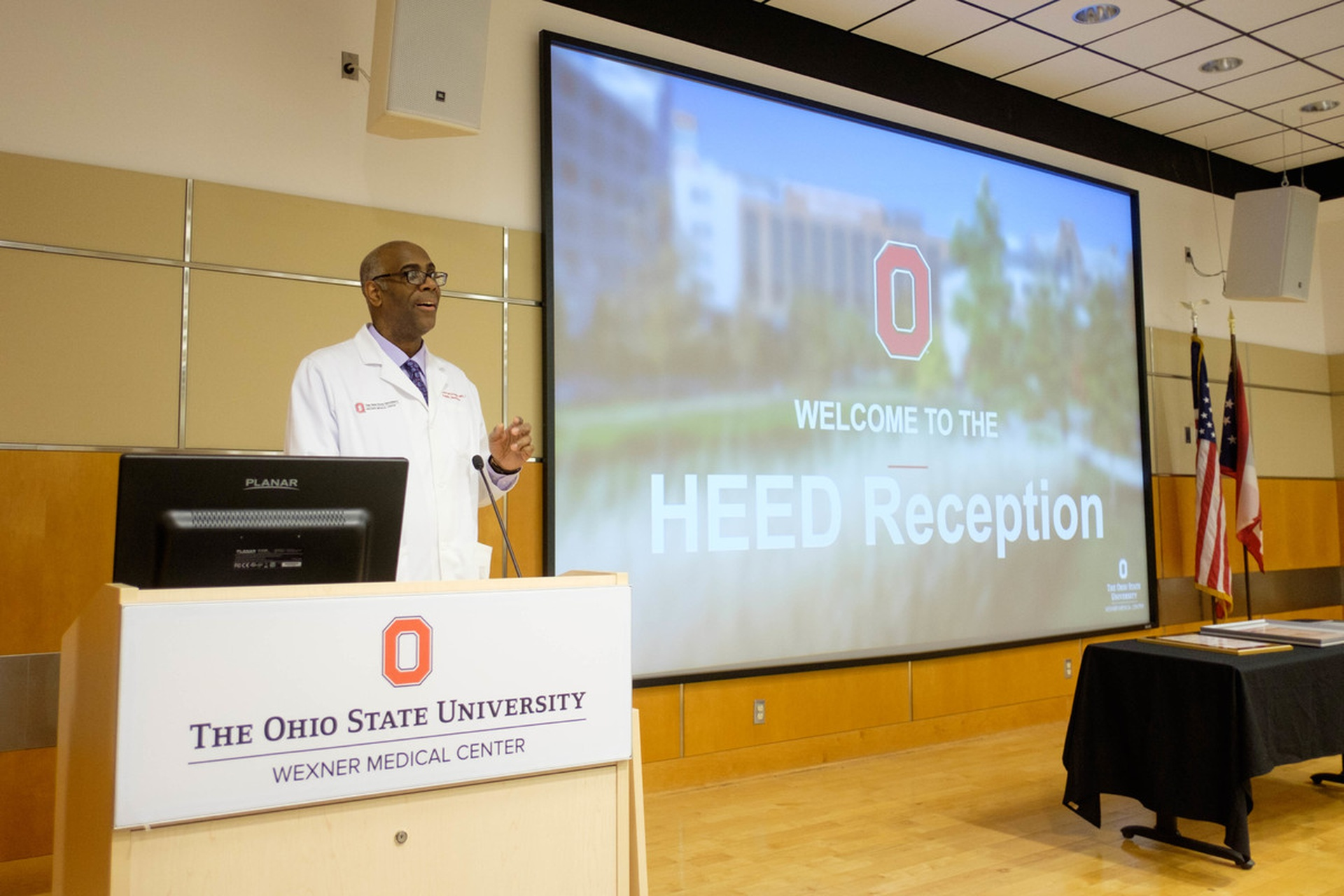 Wexner Medical Center Chief Diversity Officer Leon McDougle. Photos courtesy of the College of Medicine.