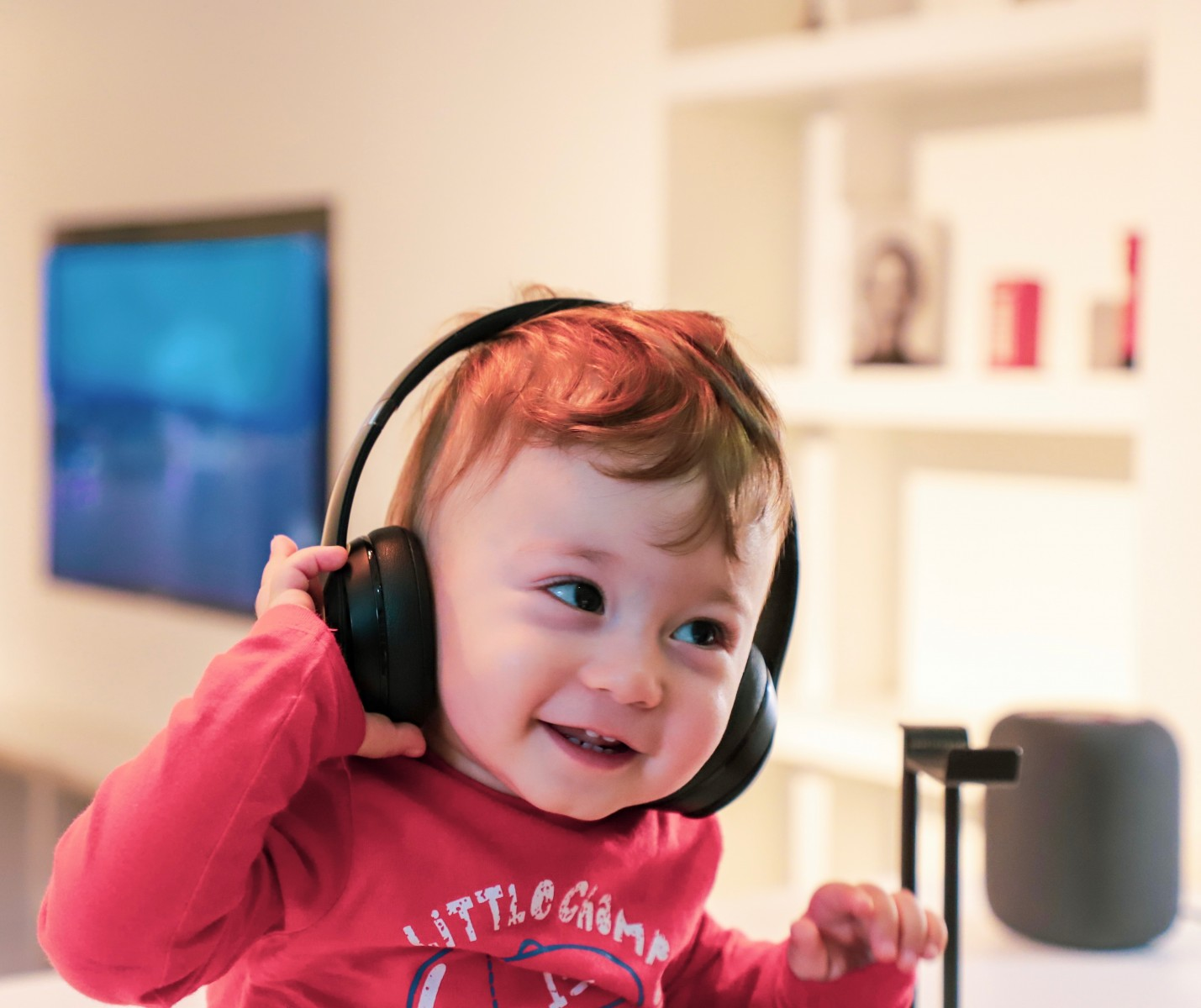 New study finds that babies repeat melodies and sounds from songs.