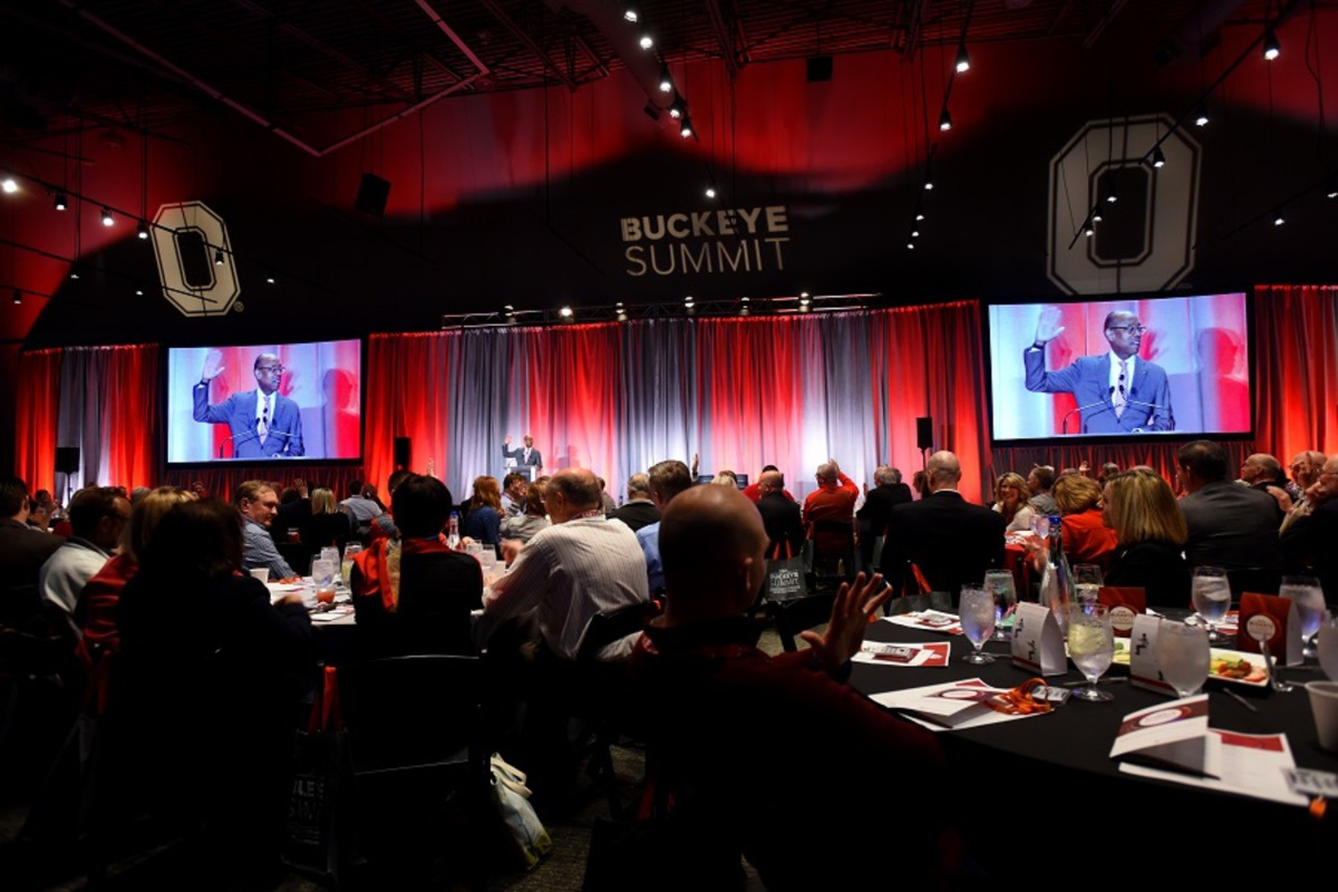 President Drake opened the 2018 Buckeye Summit. Photo: Jo McCulty