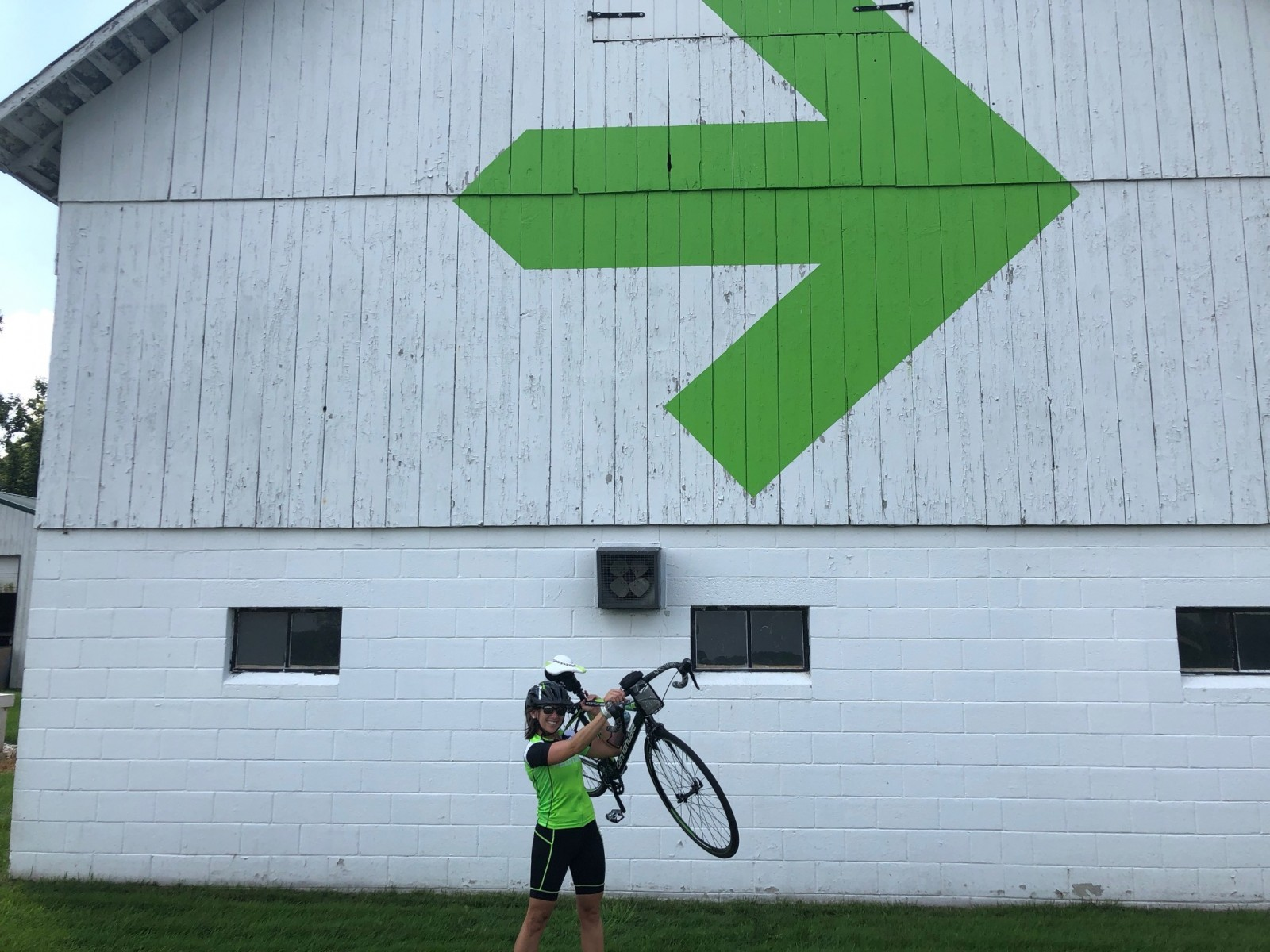 Christine Sander prepares for Pelotonia