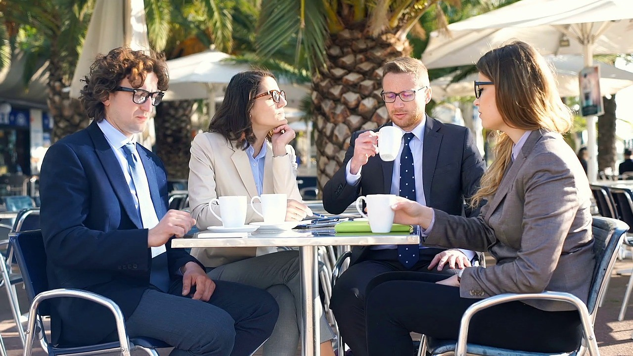 Good teamwork begins with a cup of coffee for everyone, a new study suggests.
