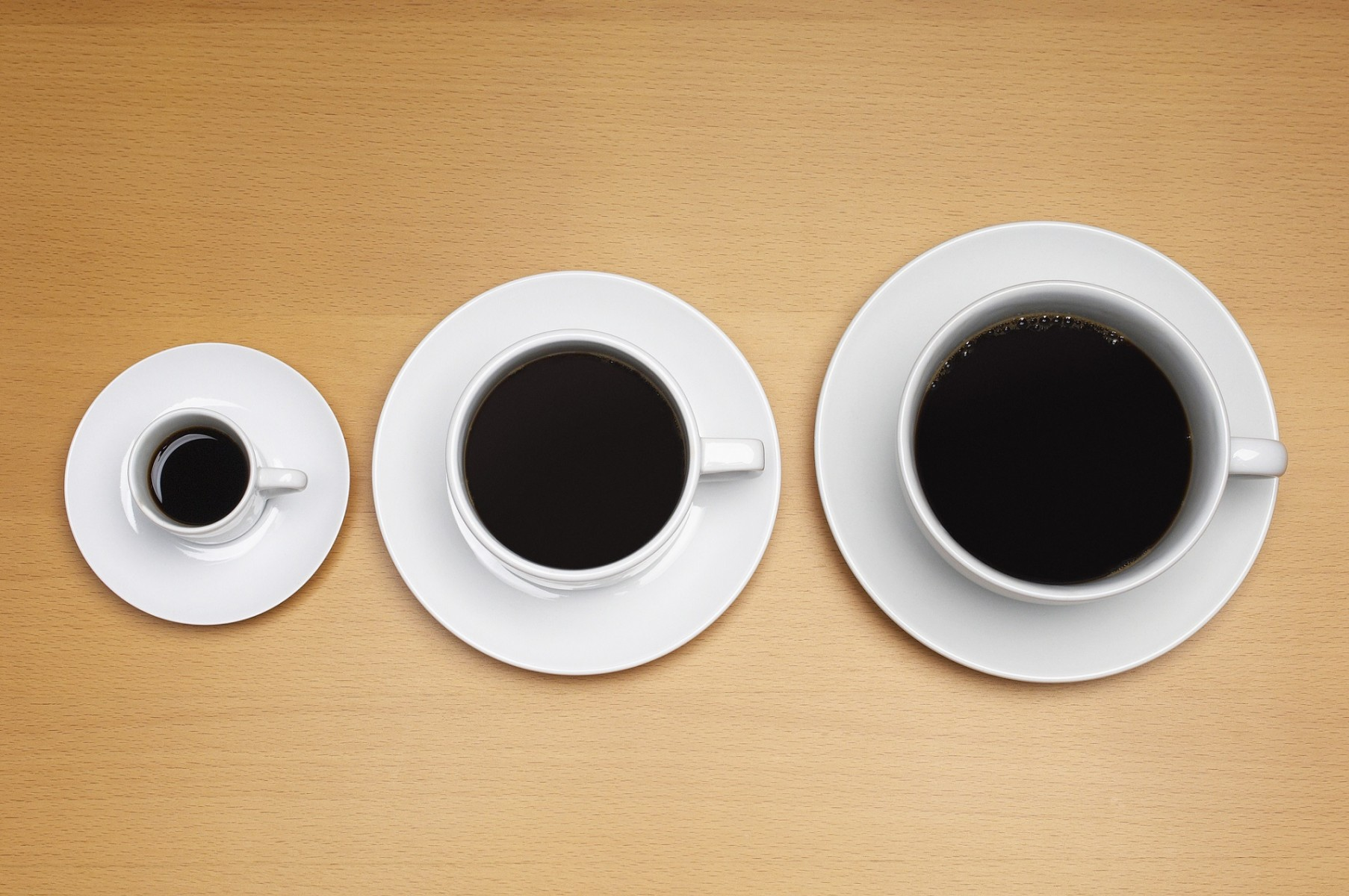 Are you going to upgrade to the larger cup of coffee?