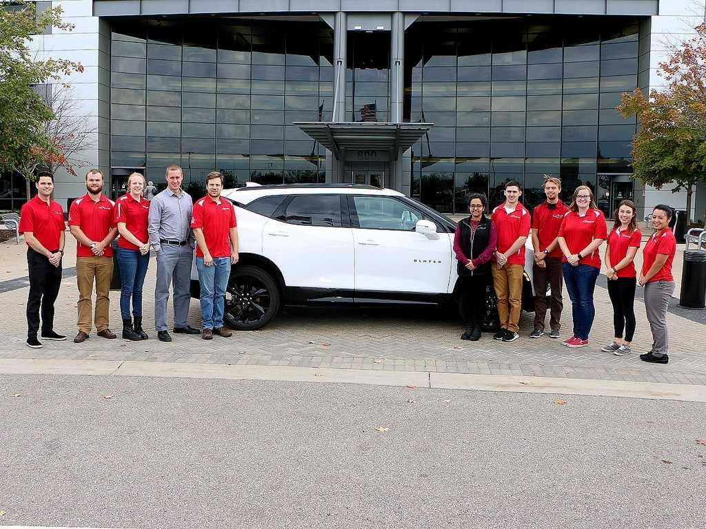 Ohio State's EcoCAR team withBlazer