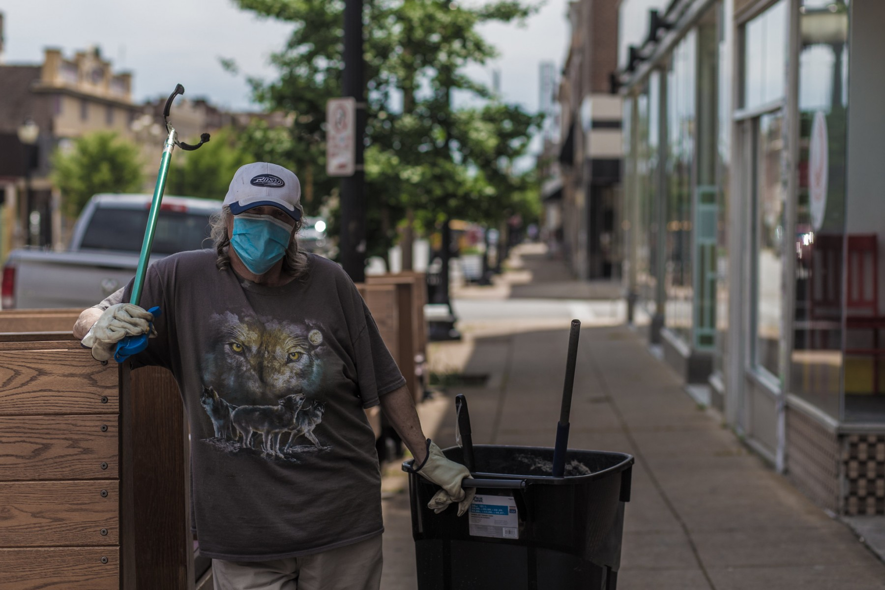After COVID-19, life may change for essential workers like those who pick up trash.