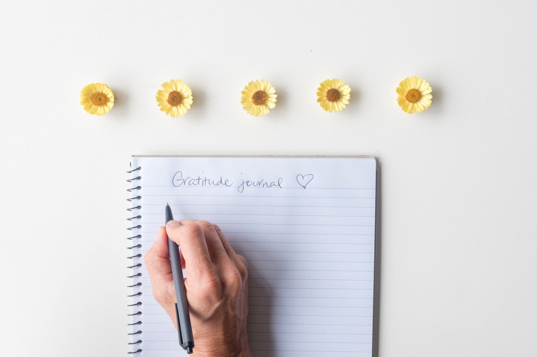 Gratitude journals may be valuable -- but not for treating depression and anxiety.