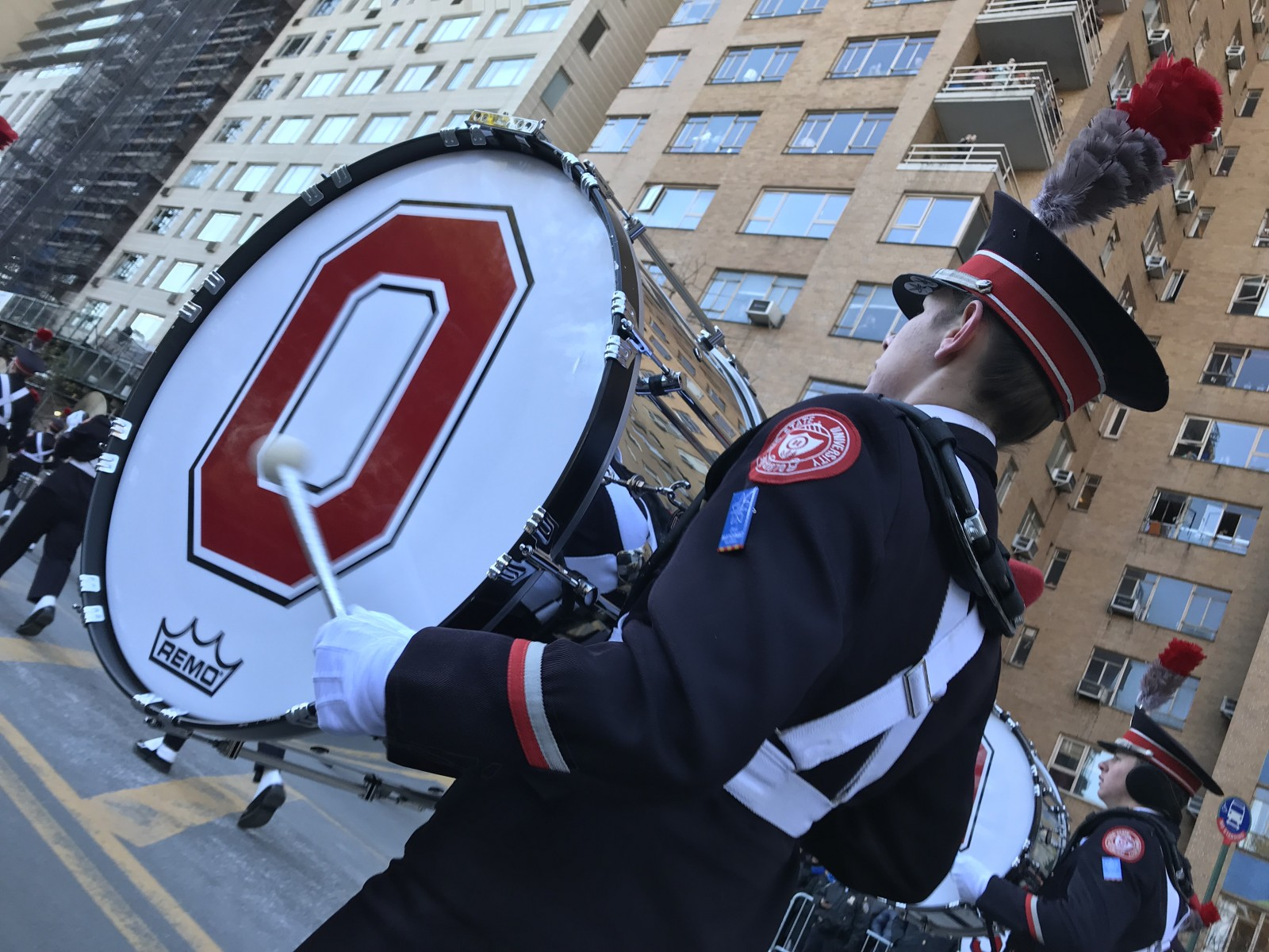 The Ohio State University Marching Band at the Macy's Parade