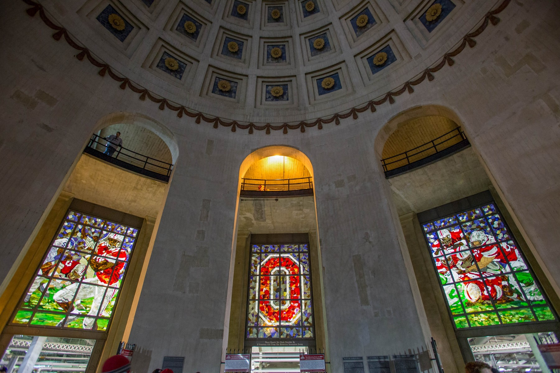 Ohio Stadium rotunda