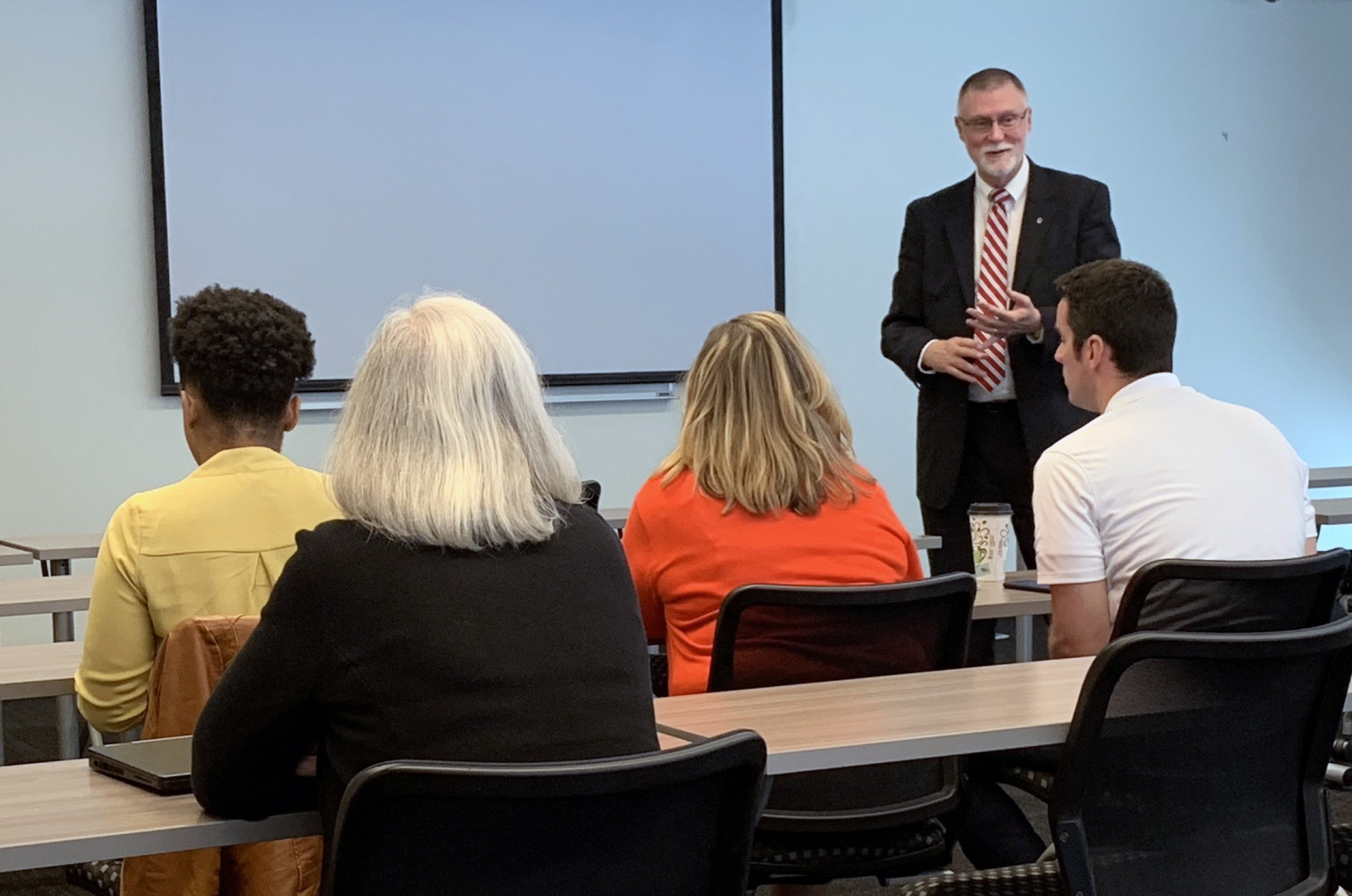 Provost McPheron discusses new teaching program