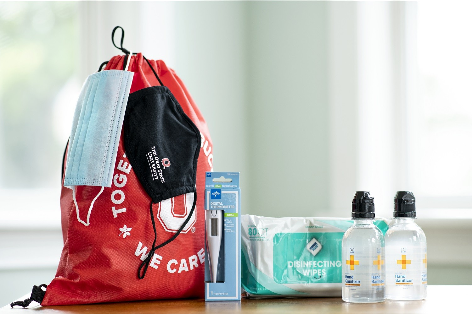 Return to campus kits for students faculty and staff