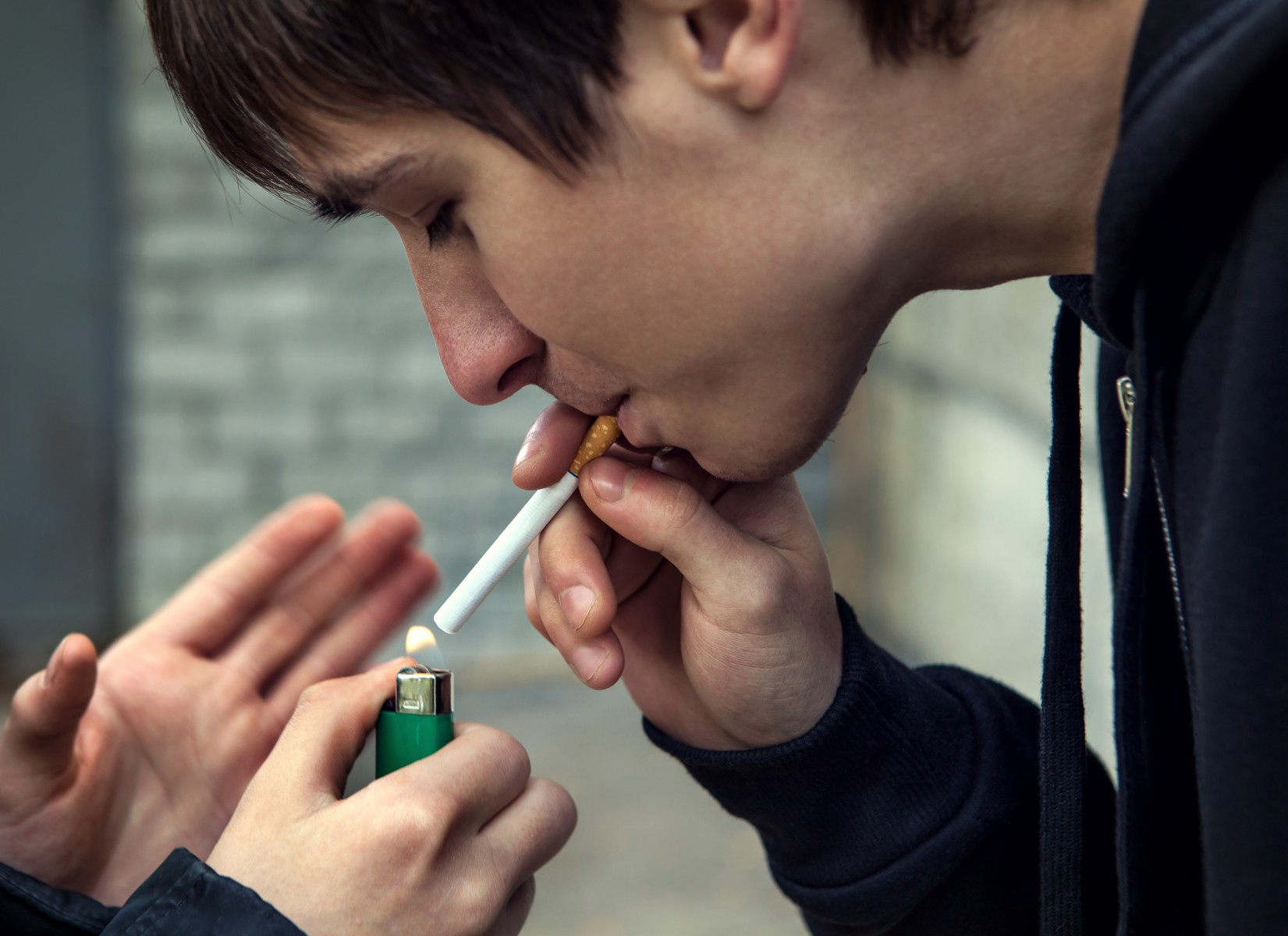 Physical abuse and neglect of kids at high risk for maltreatment is associated with a more serious smoking habit.