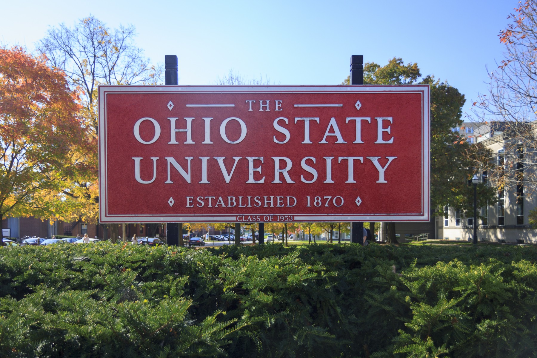 Entrance to the Columbus campus