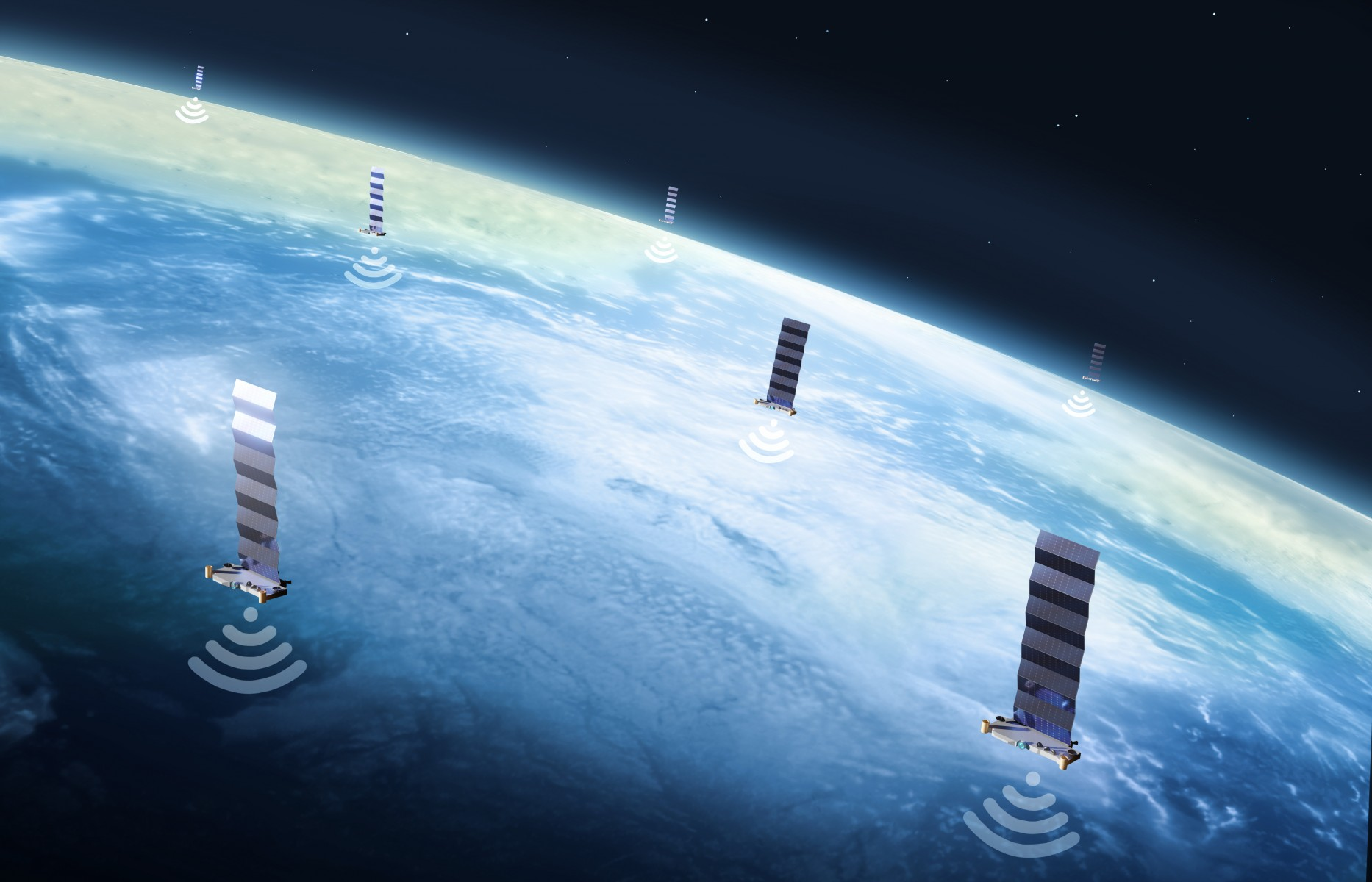 SpaceX satellite signals used like GPS to pinpoint location on Earth