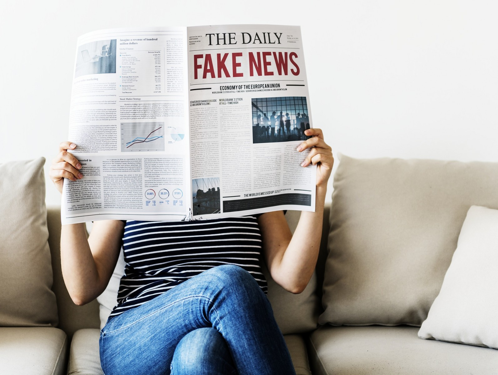 Technology cannot protect us from fake news
