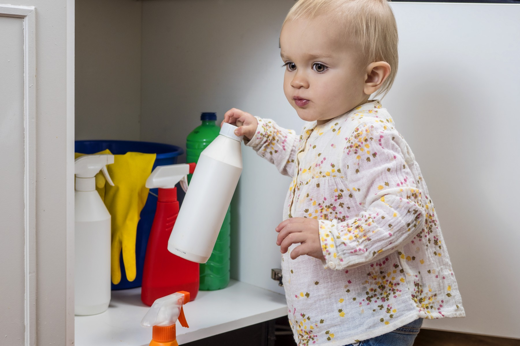 Exposure to household chemicals may delay reading development.