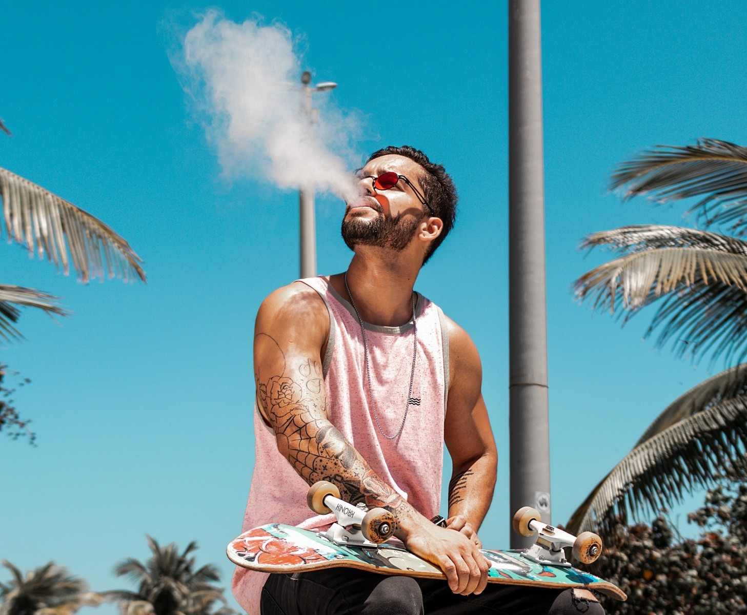 It matters if social media posts featuring vaping are marked as ads.