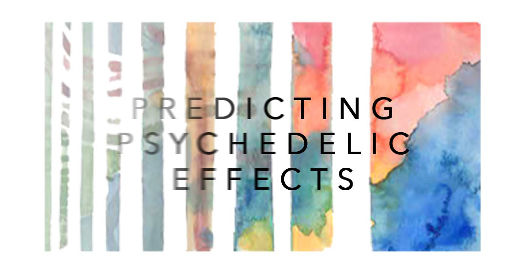 Visual representation of the positive and negative effects of psychedelics as communicated by differences in color, saturation, rhythm, contrast and clarity.