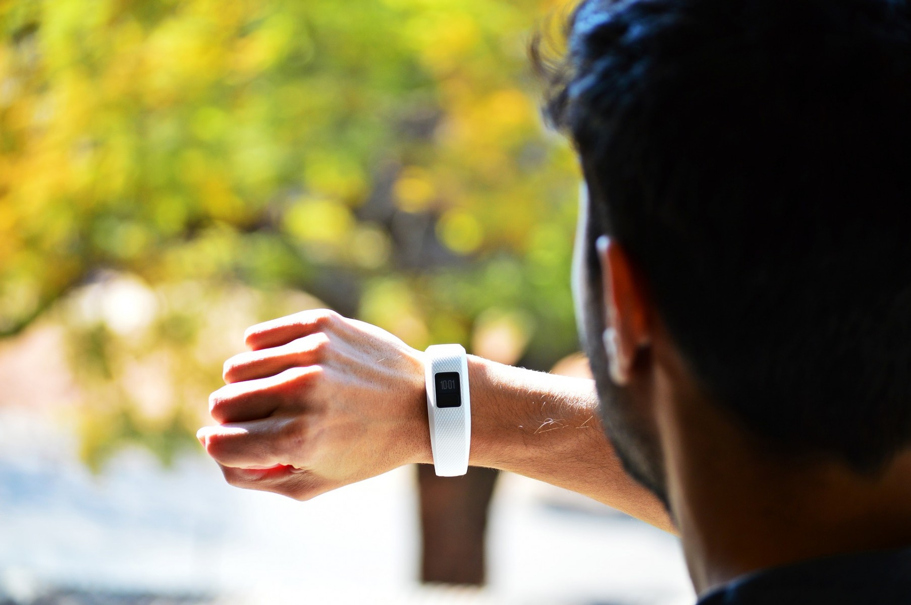 What happens to the data collected by your fitness tracker