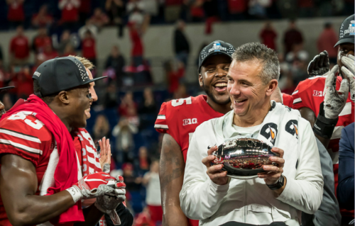 Urban Meyer wins his third Big Ten Championship