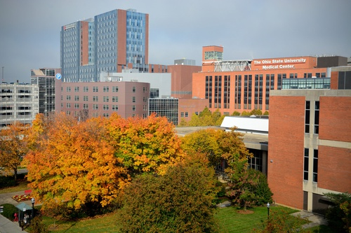 The Wexner Medical Center campus. Photo: The Ohio State University