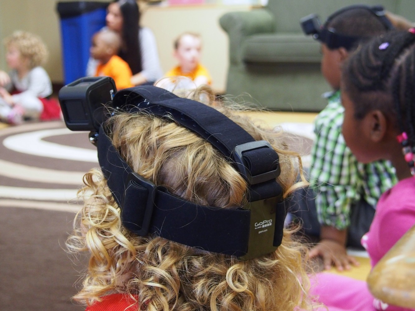Preschoolers wore video cameras to capture their perspective.