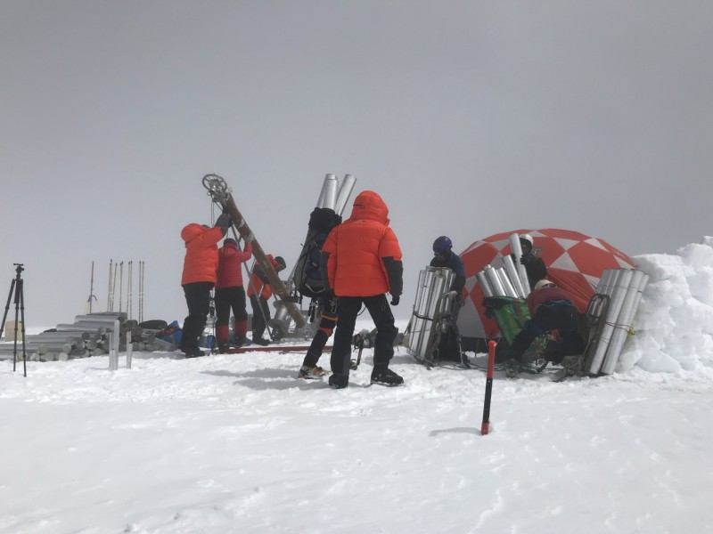 In a warming world, glacier scientists have to keep going higher - The Ohio State University News