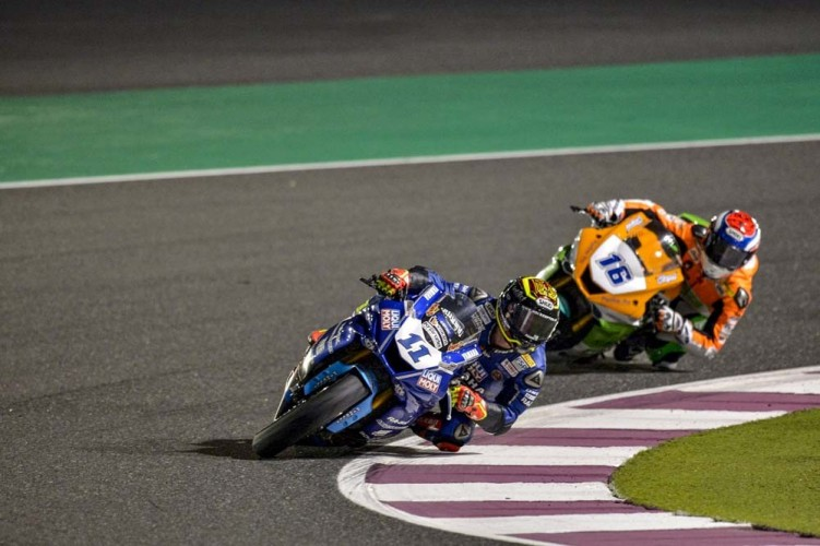 Sandro Cortese On Yamaha Is The New FIM Supersport World
