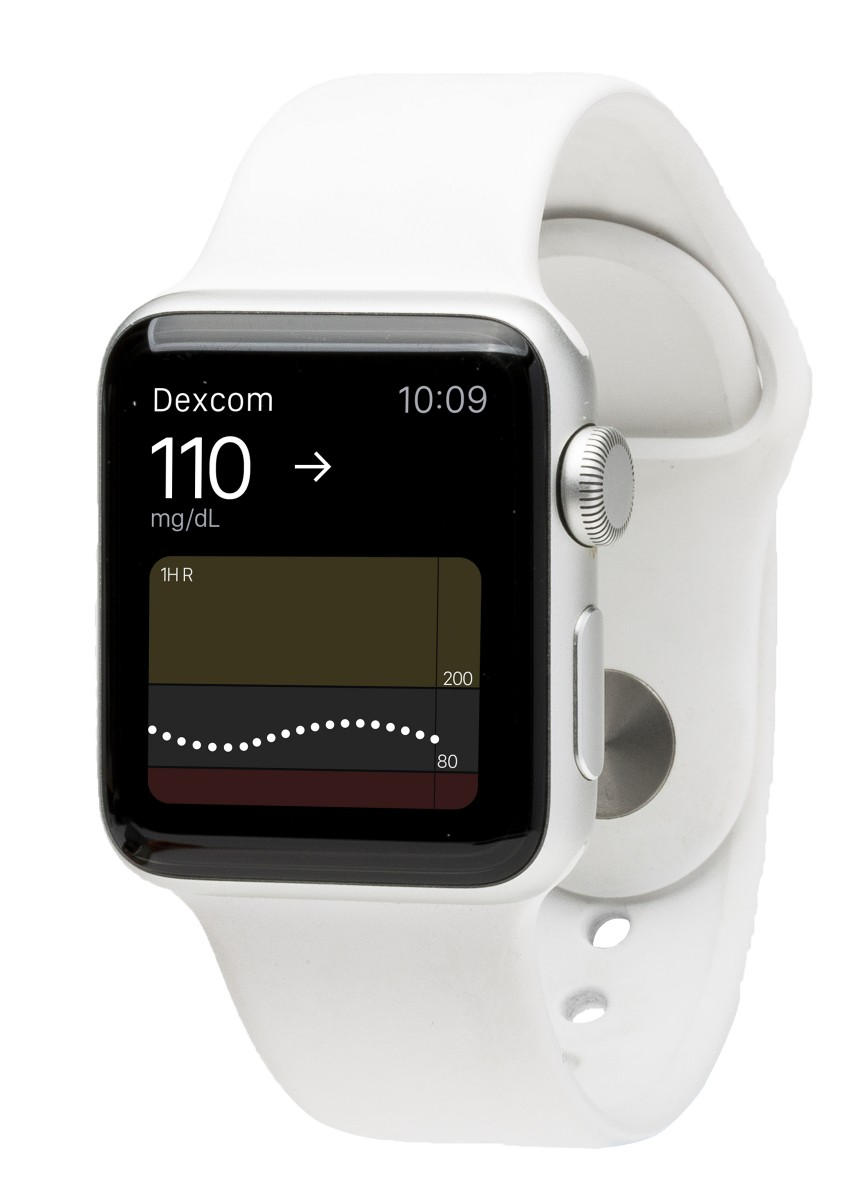 Apple watch_white_facing left