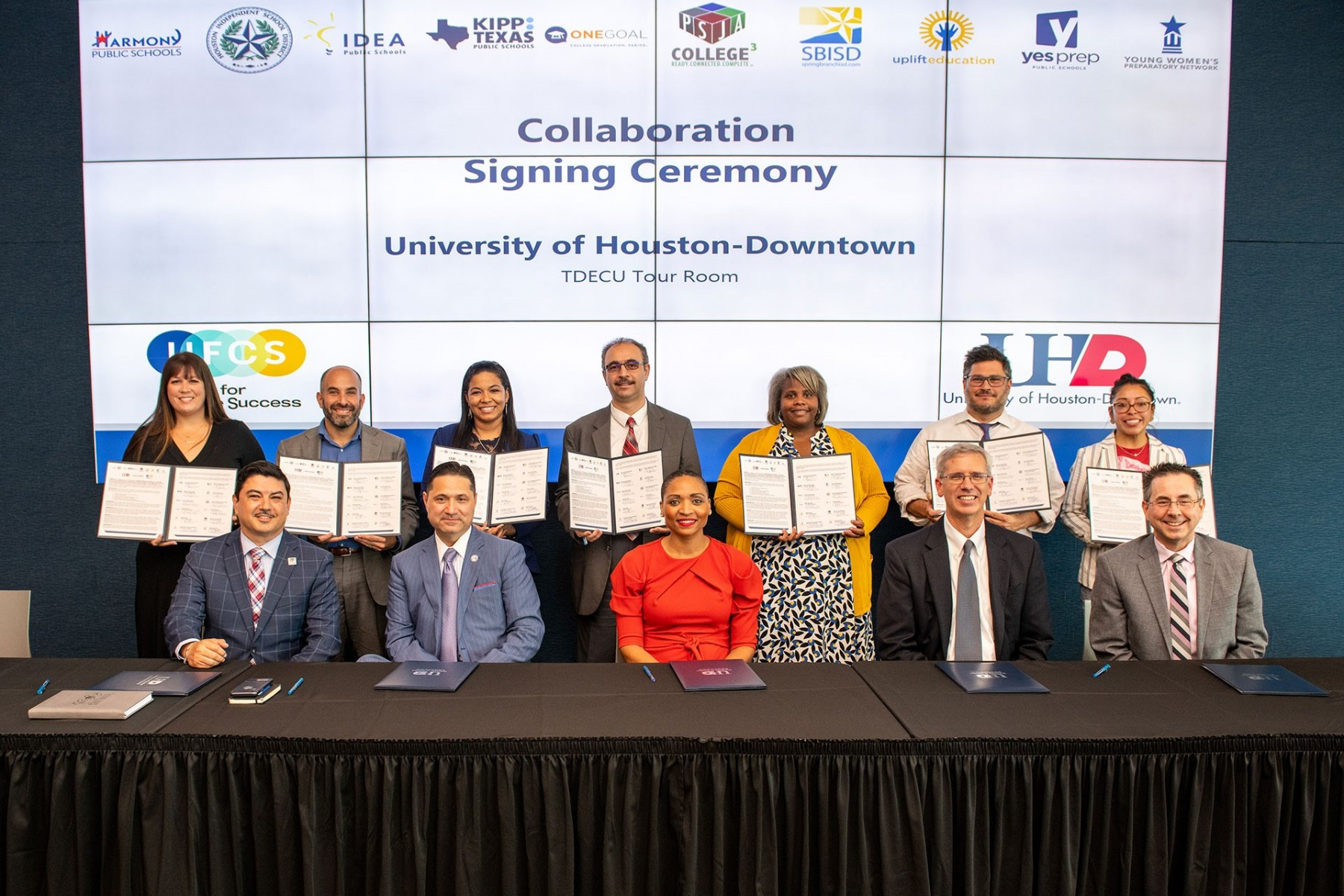 UHD Letter of Intent Signing with UFCS