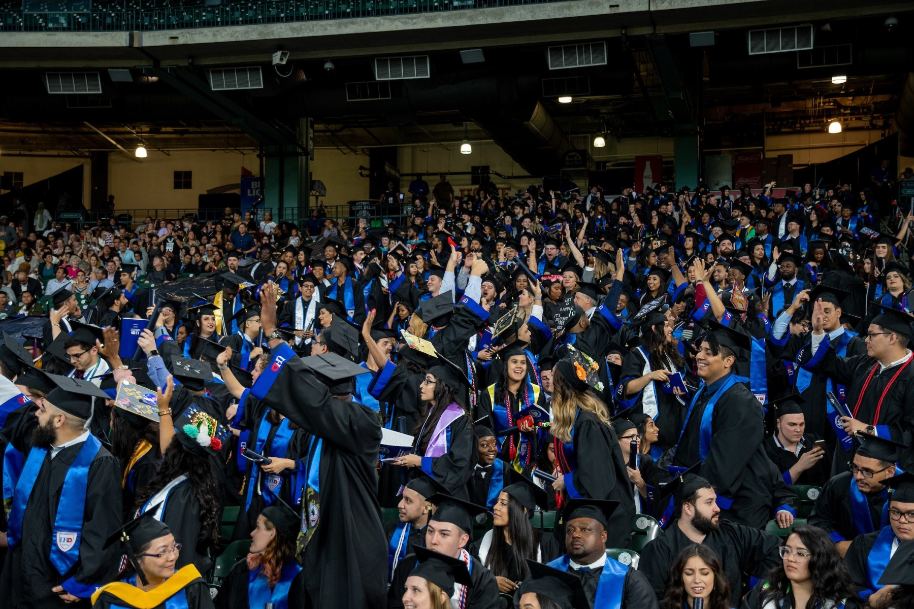 Graduates will have plenty to celebrate at UHD's 67th Commencement.