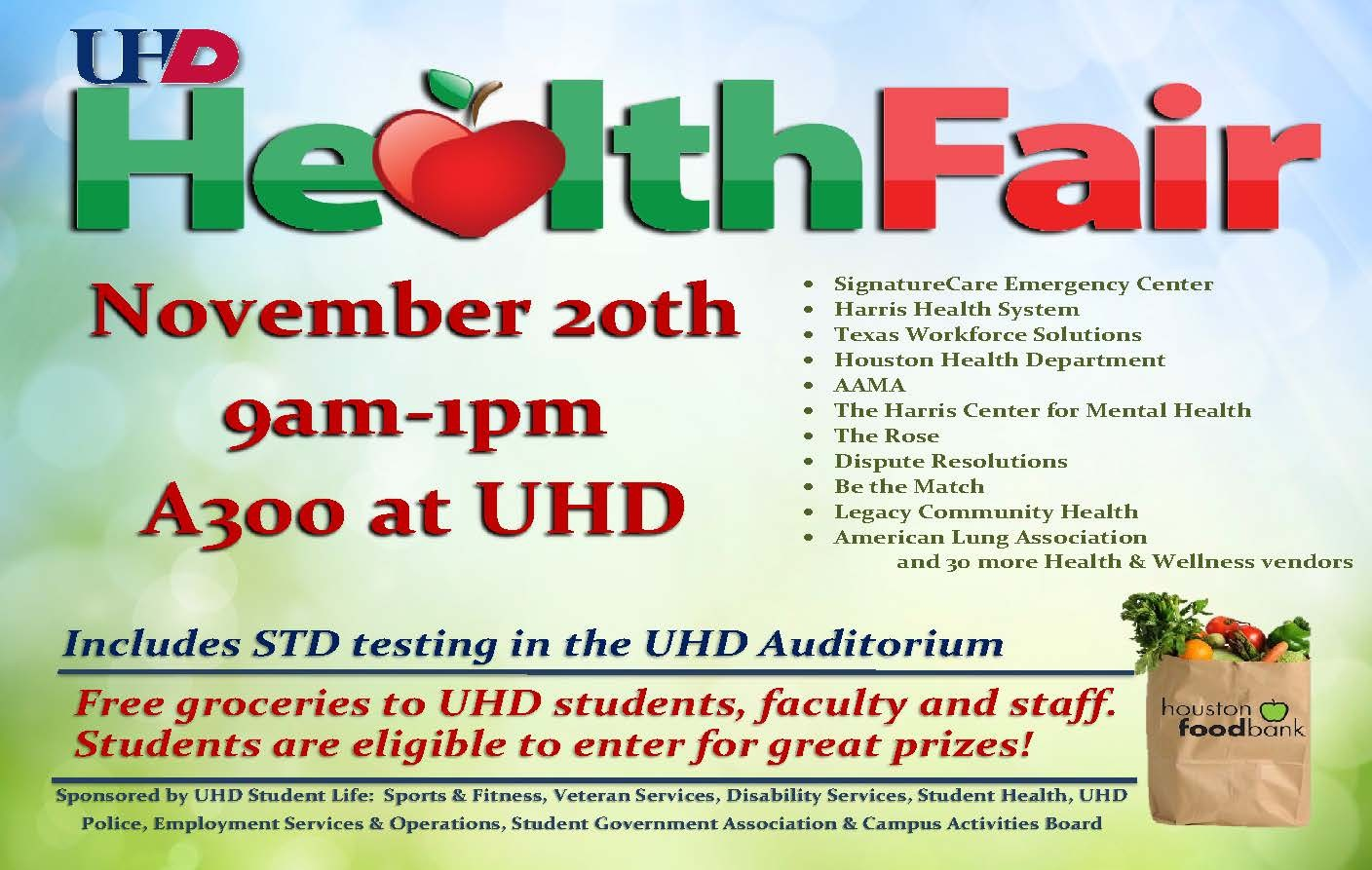 Health Fair Fall 2019