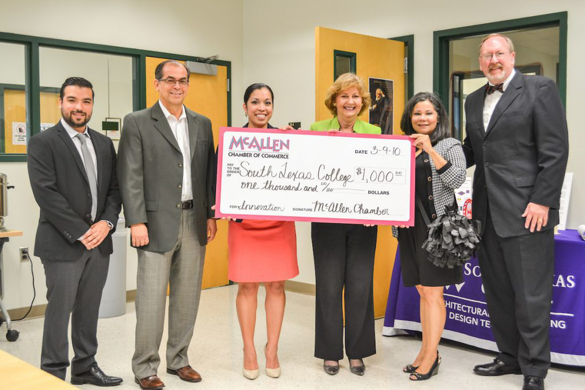 McAllen-Chamber-of-Commerce-Check-Presentation-to-STC-2-15-1024x683.jpg