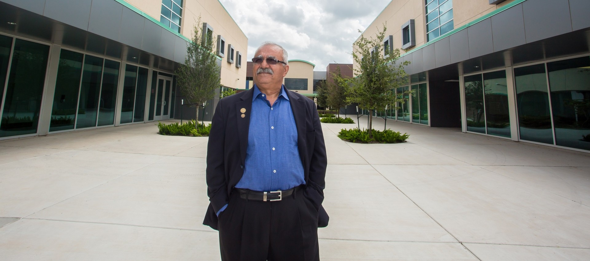 Dr. Esmaeili on Campus