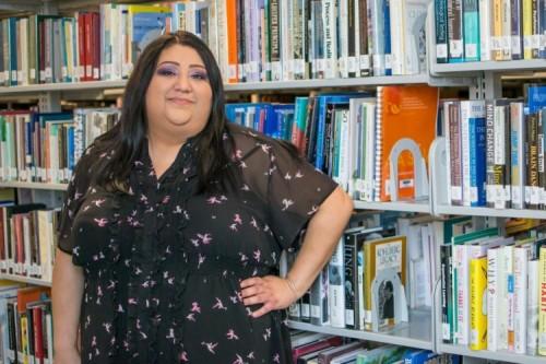 Student of the Week Sandra Villarreal