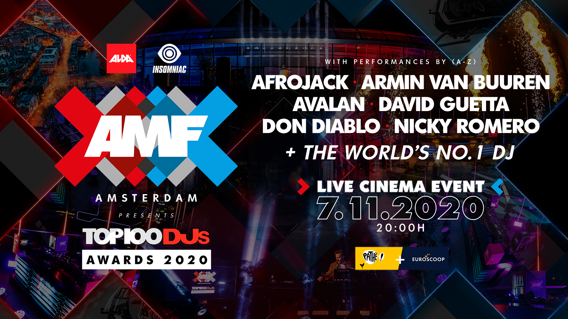 AMF TOP100DJs Awards 2020'