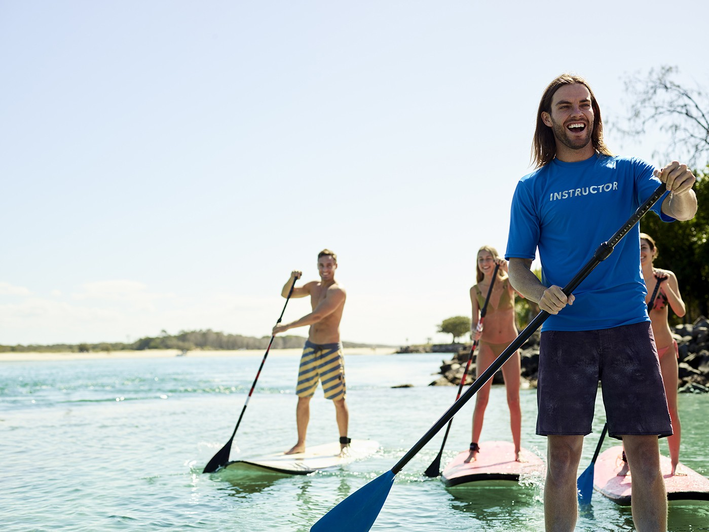 Hostplus Paddle Boarder