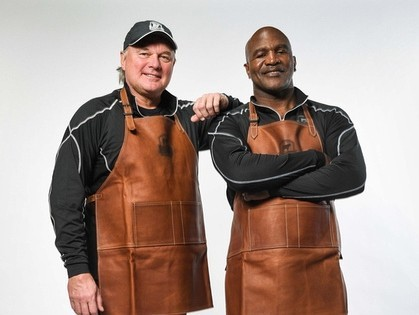 Morten+Andersen+and+Evander+Holyfield
