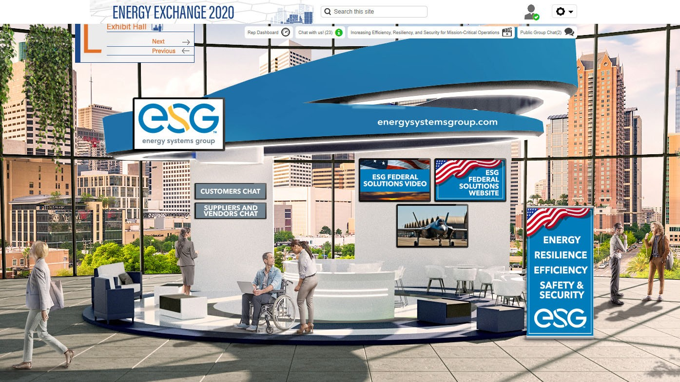 ESG Energy Exchange 2020 Booth