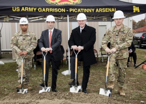 Picatinny Arsenal Ground Breaking Ceremony