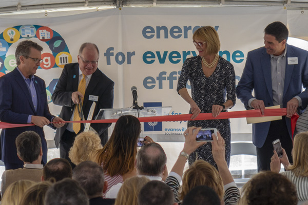 ESG New Corporate Office Ribbon Cutting