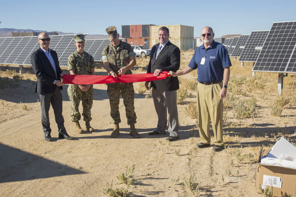 Harvesting the power of the sun aboard MCLB Barstow