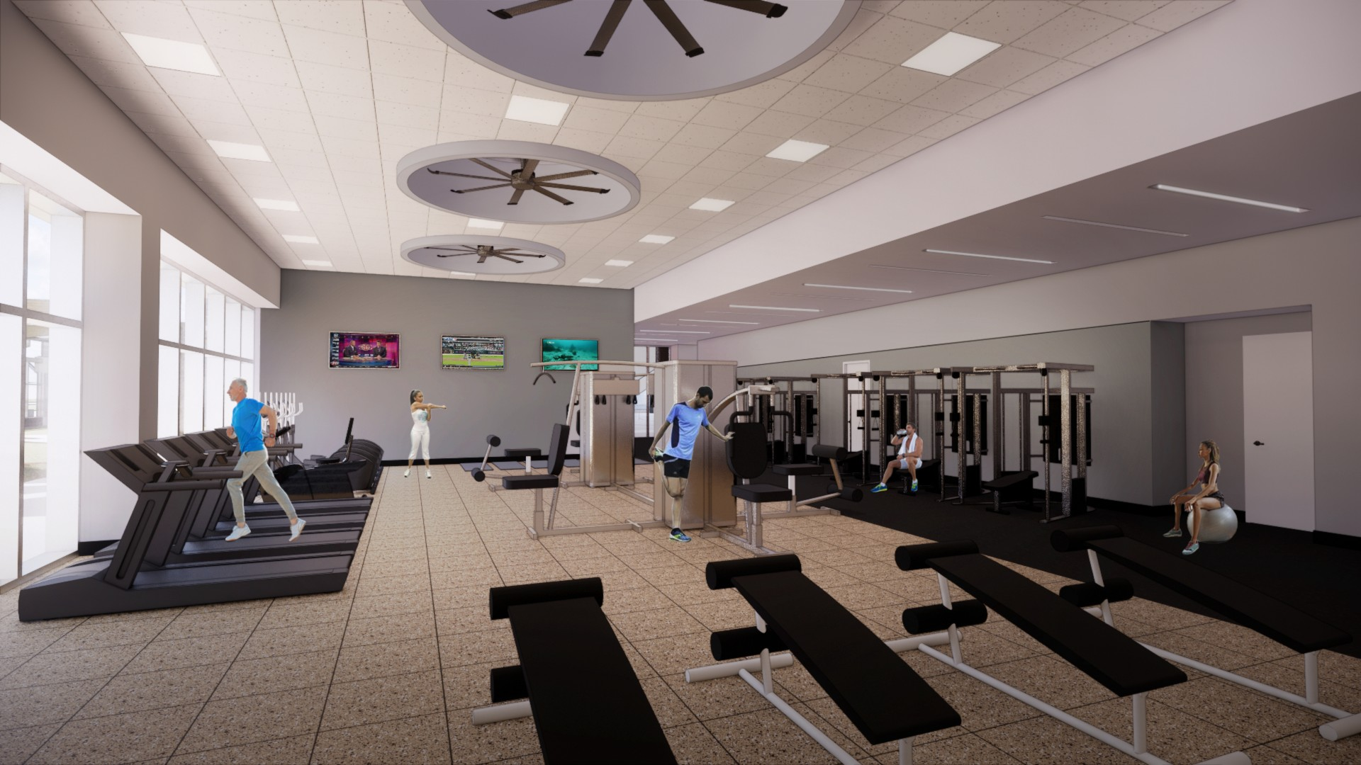 8_SkyCenter One Fitness Center