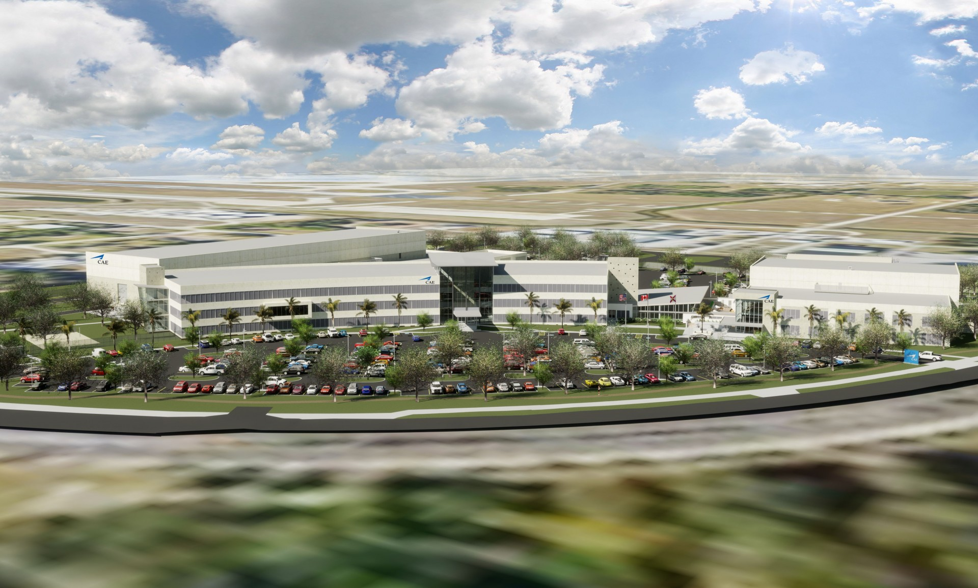 CAE_USA_new_facility_rendering_Sept2019