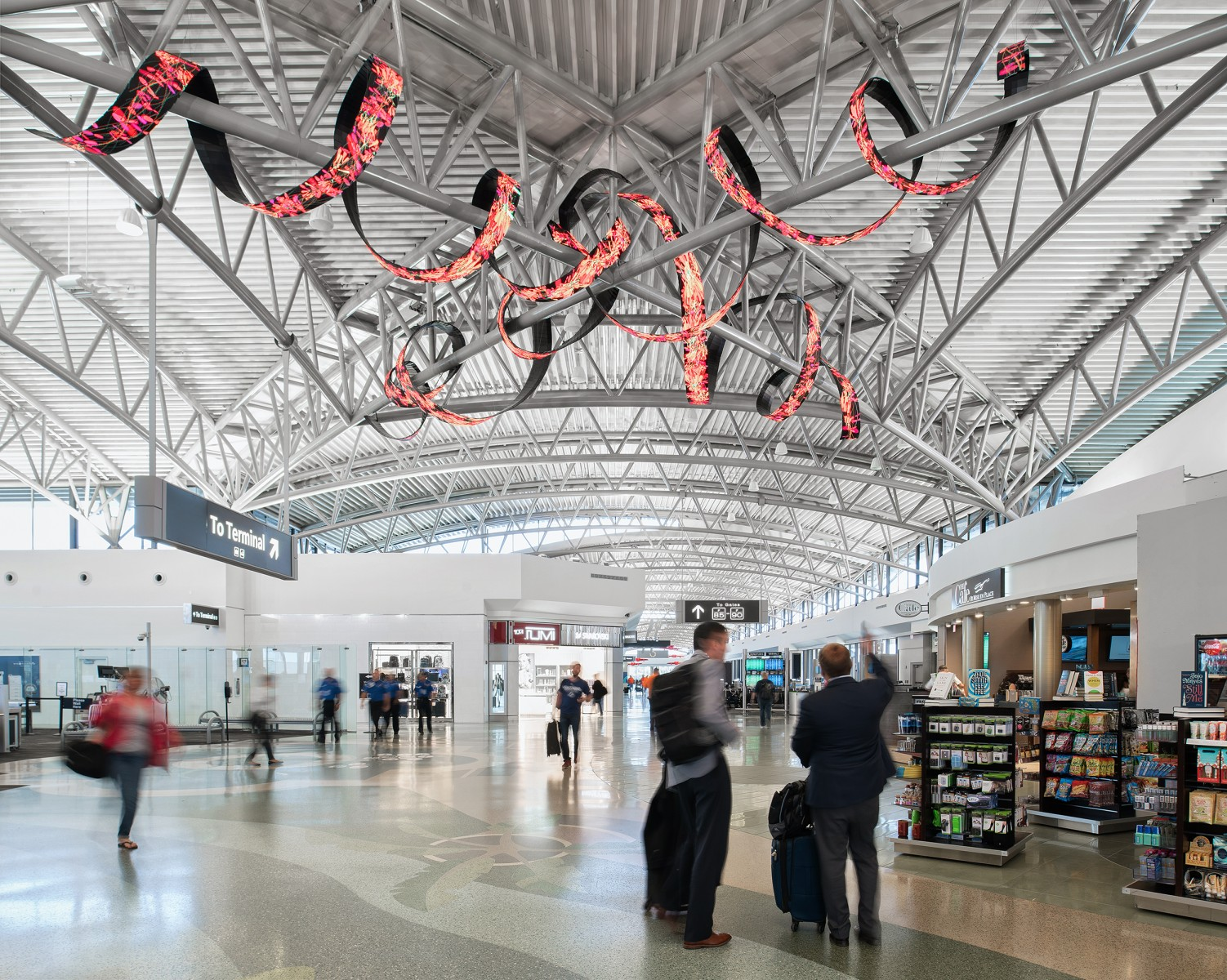 More Passengers, More Facility Improvements, More Revenue