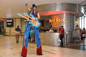 Hard Rock character-grand opening